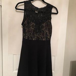Windsor Lace Round Neck Dress